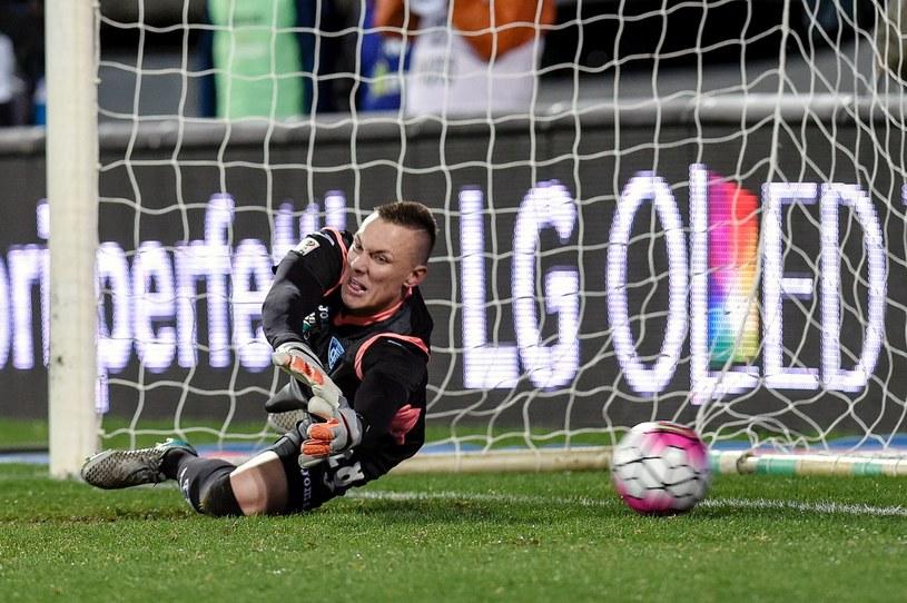 Łukasz Skorupski to ostoja defensywy Empoli, które zajmuje 17. miejsce w Serie A /AFP