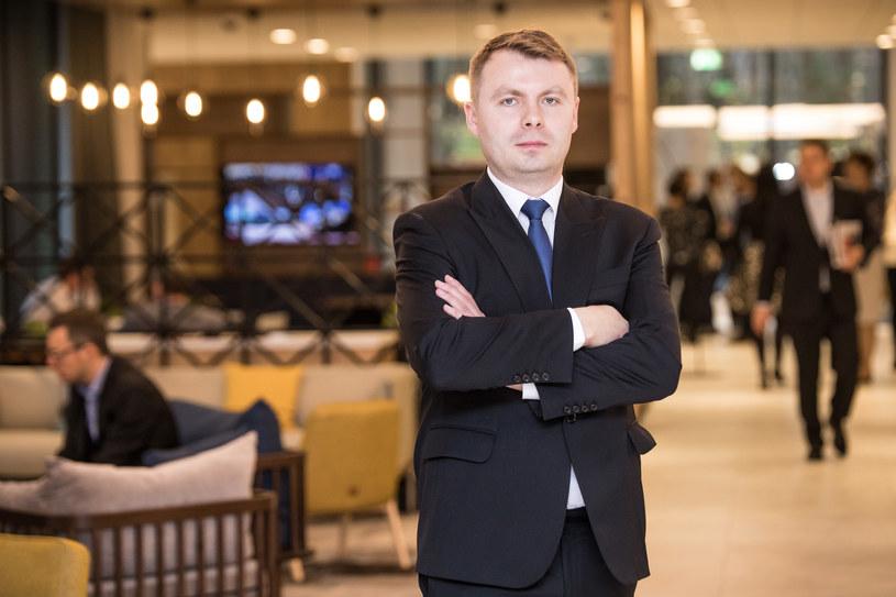 Łukasz Słominski, dyrektor zarządzający Grupy Polcom / inf. prasowa /&nbsp