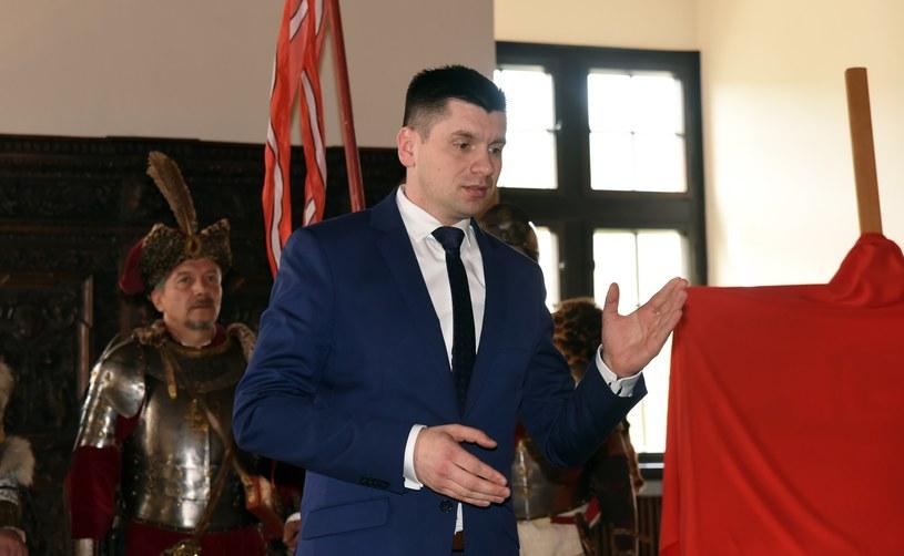 Łukasz Smółka, szef gabinetu ministra Andrzeja Adamczyka /Marek Lasyk  /Reporter