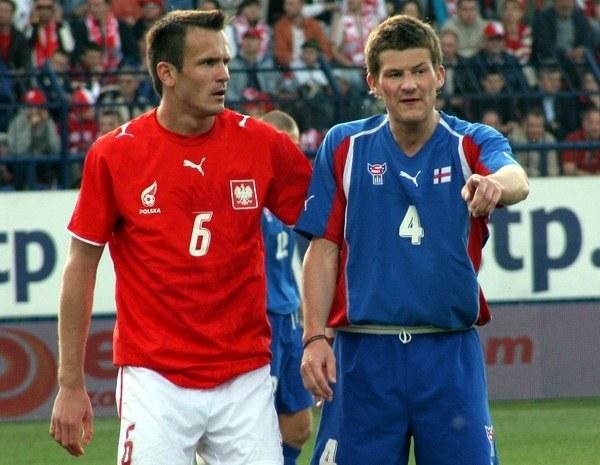 Łukasz Sosin (z lewej) w niedzielę bramki nie strzelił /INTERIA.PL