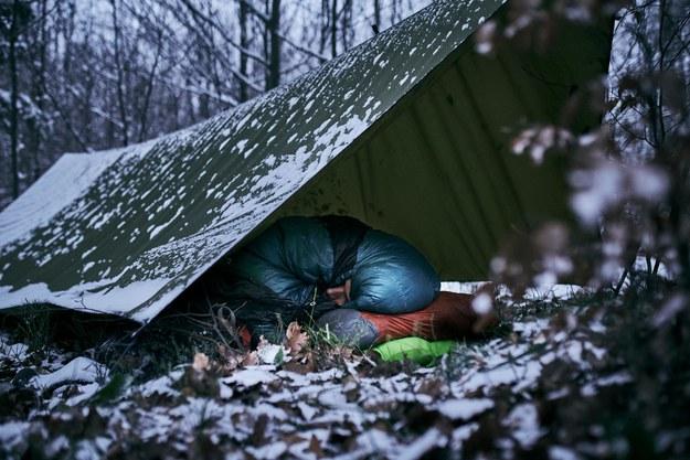 Łukasz Supergan rok temu przeszedł samotnie zimą 800 kilometrów ze wschodu na zachód Islandii  fot.: Michał Grzywacz /