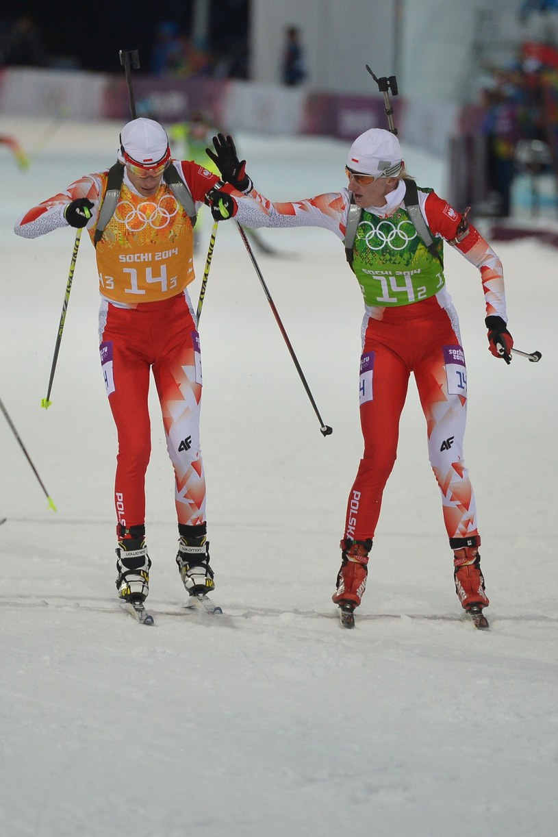 Łukasz Szczurek (z lewej) /AFP