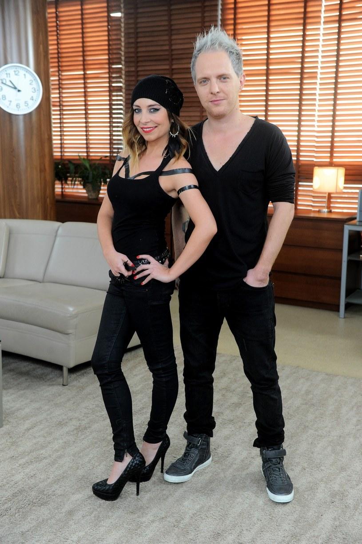 Łukasz Sztaba i jego żona Ewelina tworzyli duet nie tylko prywatnie, ale i zawodowo /Piotr Blawicki /East News