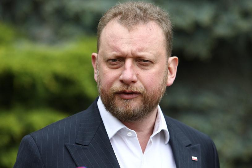 Łukasz Szumowski, minister zdrowia /Tomasz Jastrzębowski /Reporter
