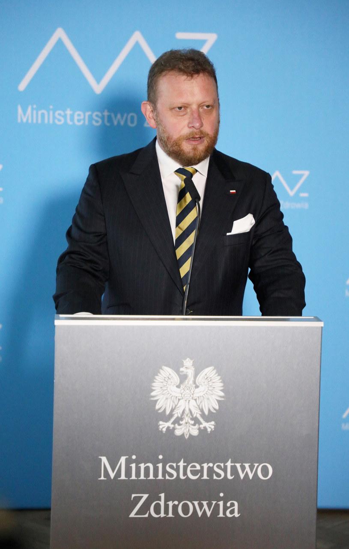 Łukasz Szumowski na konferencji prasowej 18 sierpnia /Jakub Kaminski/East News /East News