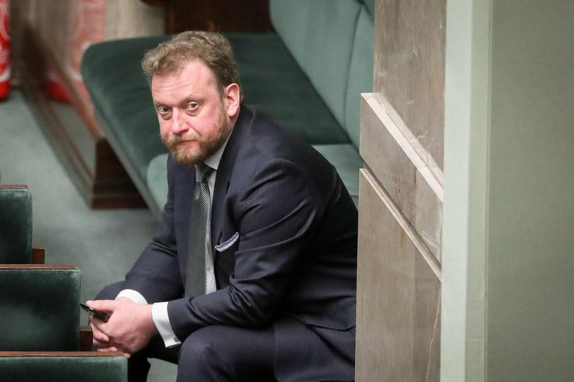 Łukasz Szumowski w Sejmie /Andrzej Iwańczuk /Reporter