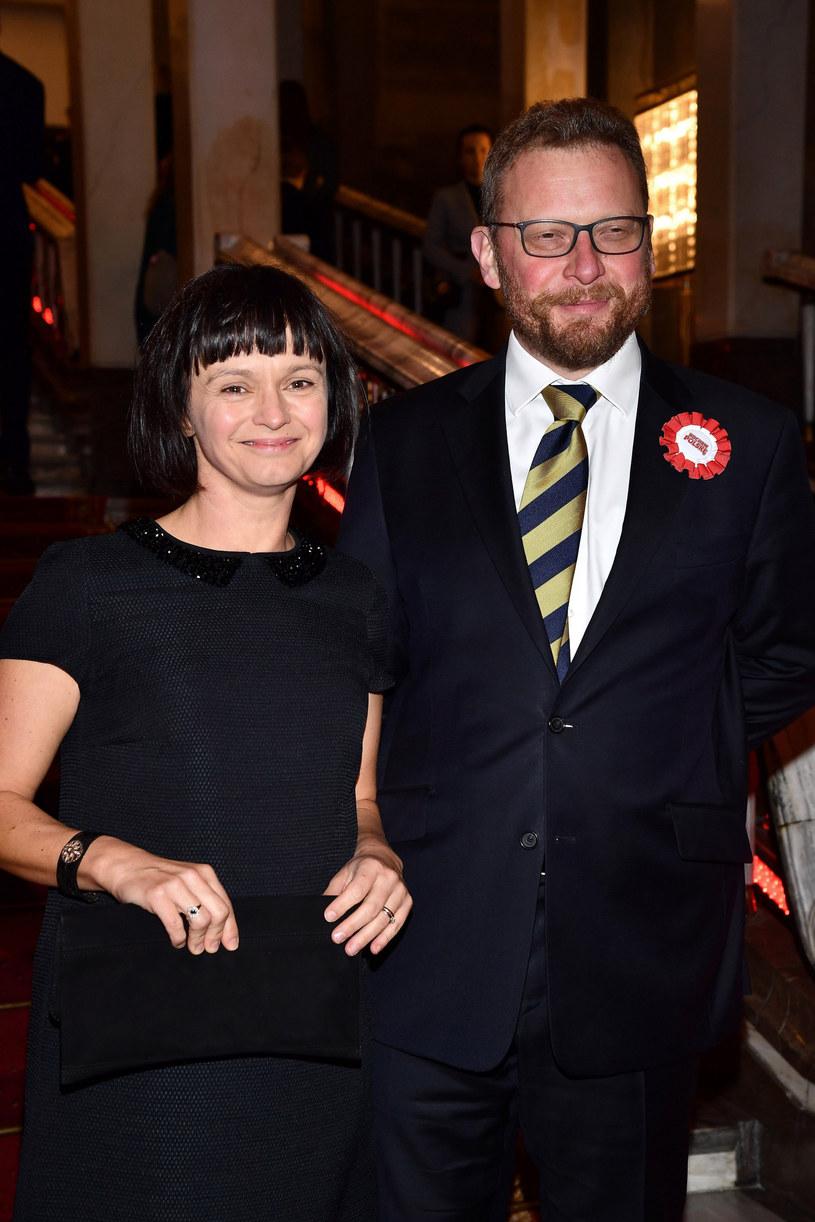 Łukasz Szumowski z żoną Anną /Mateusz Jagielski /East News