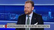 Łukasz Szumowski zaliczył wpadkę. Zapytali go o Edytę Górniak