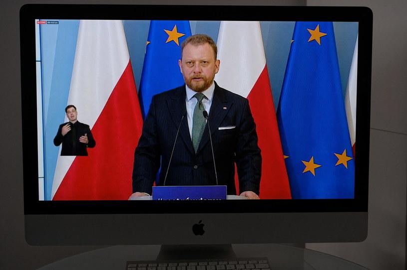 Łukasz Szumowski /Mateusz Marek /PAP
