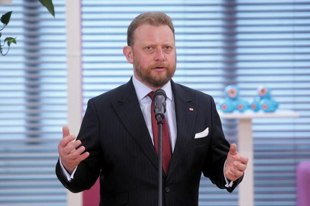 Łukasz Szumowski /Wojciech Olkuśnik /PAP