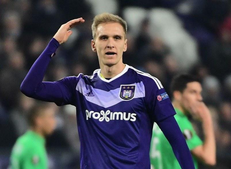 Łukasz Teodorczyk, piłkarz Anderlechtu /AFP