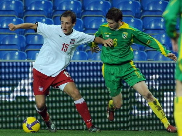 Łukasz Trałka już kiedyś grywał w reprezentacji Polski /AFP