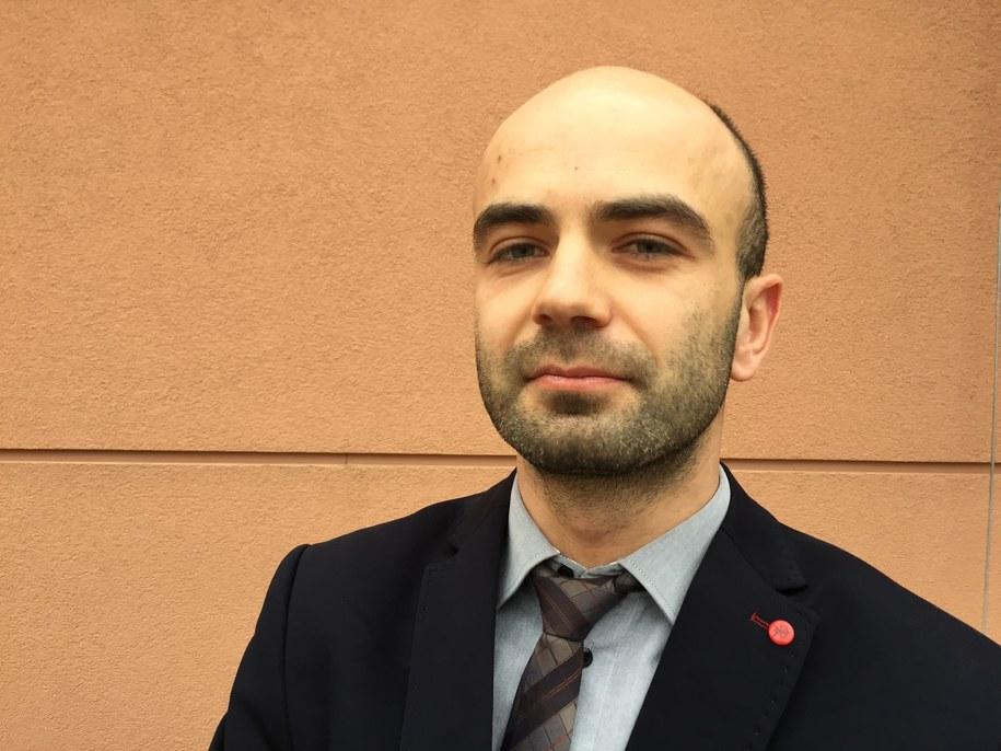 Łukasz Wiśniewski, wiceprezes firmy ASTRONIKA Sp. z o.o. /Jakub Rutka /RMF FM