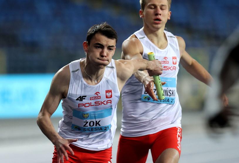 Łukasz Żok i Adrian Brzeziński /Andrzej Grygiel /PAP
