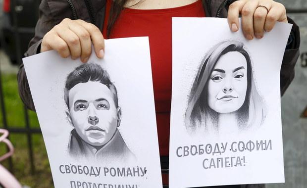 Łukaszenka: Śledztwa ws. Pratasiewicza i Sapiegi będą prowadzone na Białorusi