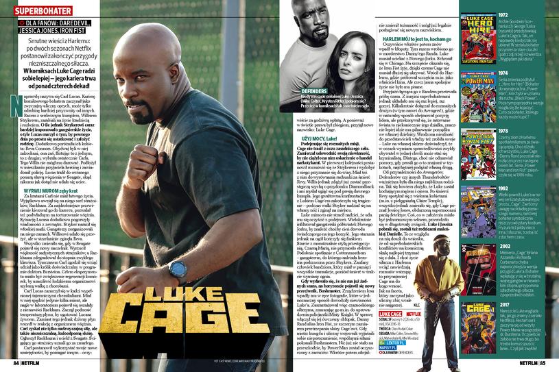 Luke Cage - superbohater /Bauer