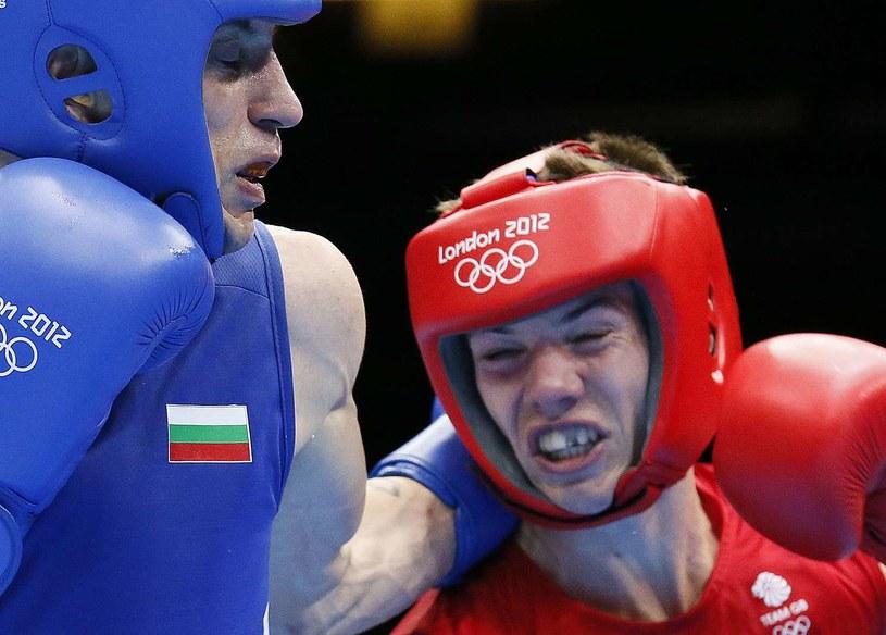 Luke Campbell (z prawej) tu jeszcze na Igrzyskach Olimpijskich w Londynie /AFP
