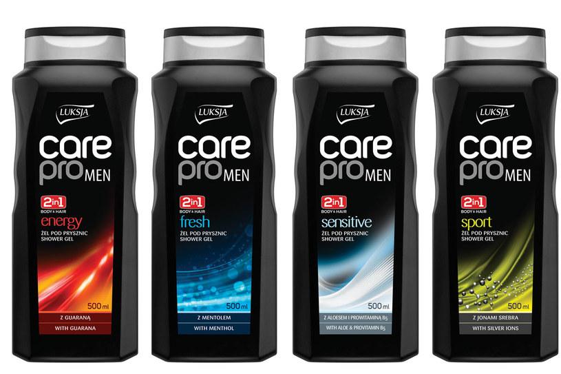 Luksja Care Pro Men /materiały prasowe