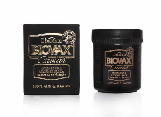 Luksusowa maska z kawiorem firmy Biovax /materiały prasowe