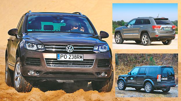 Uzywane Luksusowe Suv Y Jeep Grand Cherokee Land Rover Discovery I