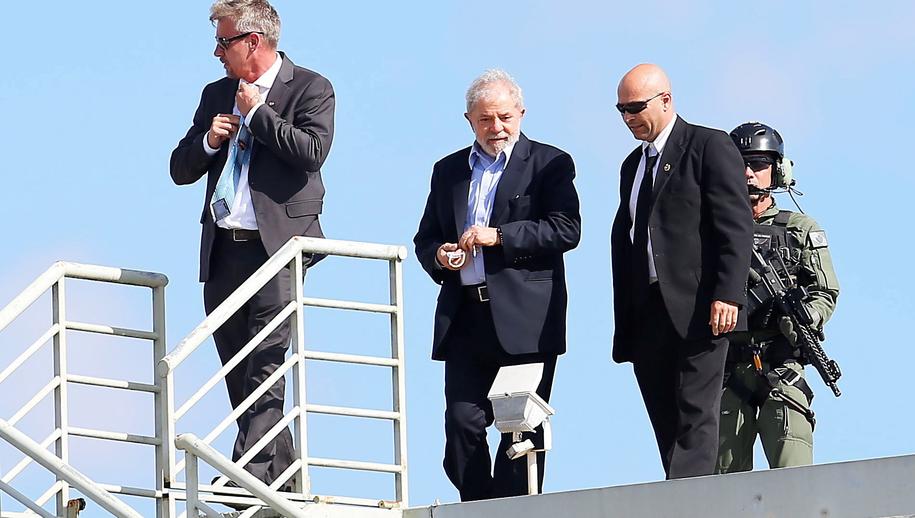 Lula przebywa w więzieniu od roku /PAP/EPA
