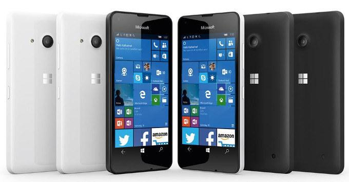 Lumia 550 /materiały prasowe