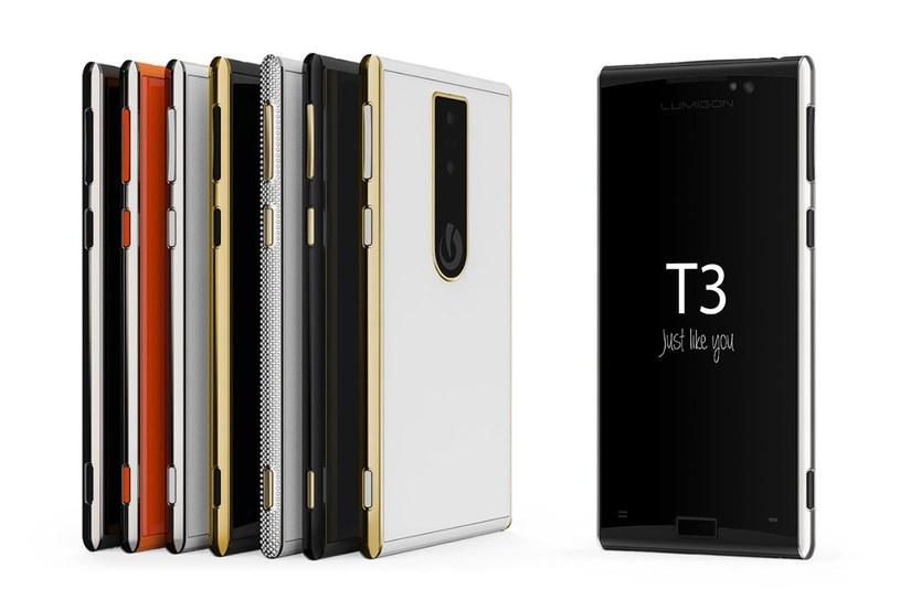 Lumigon T3 to nowy smartfon z nocnym aparatem /materiały prasowe