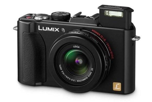 Lumixa LX5 wyposażono w wysokiej jakości obiektyw Leica /materiały prasowe