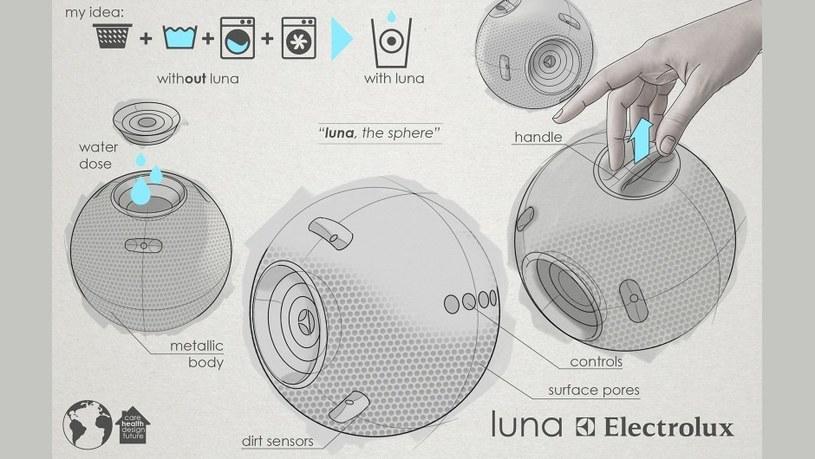 Luna - kula, dzięki której nie będziesz już potrzebował pralki /materiały prasowe
