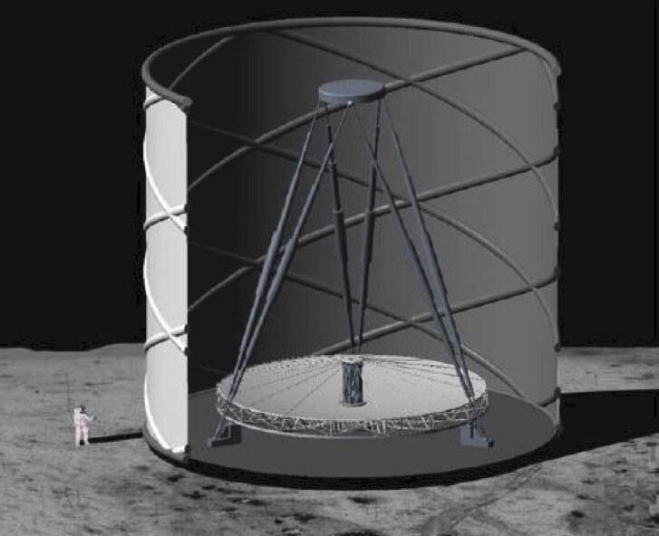 Lunar Liquid-Mirror Telescope byłby najbardziej zaawansowanym teleskopem ludzkości /materiały prasowe