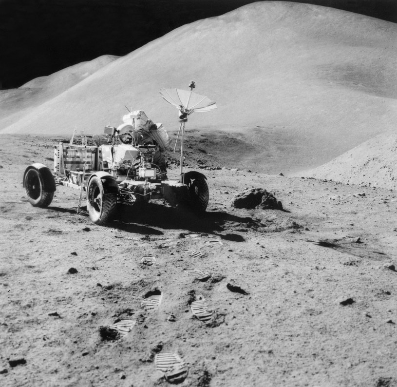 Lunar Roving Vehicle /AFP