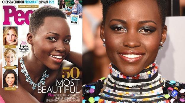 """Lupita Nyong'o znalazła się na okładce magazynu """"People"""" - fot. Jason Merritt /Getty Images"""