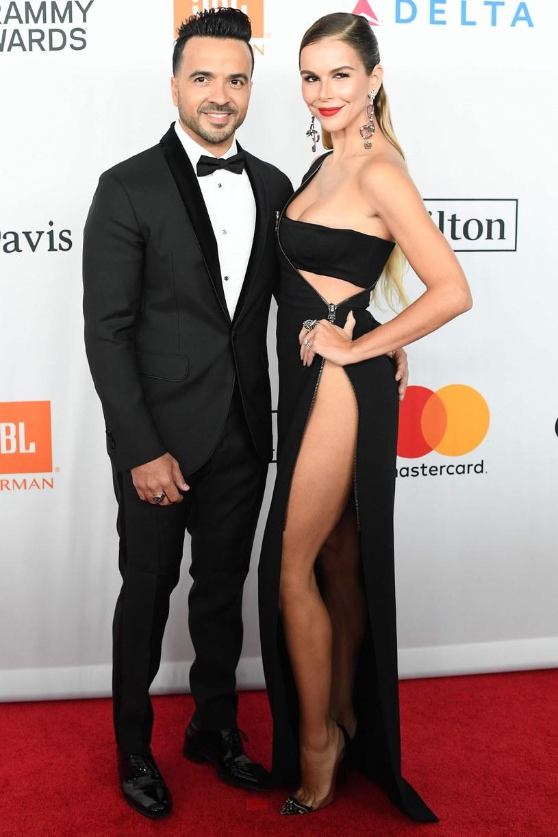 Lusi Fonsi z żoną na gali /East News