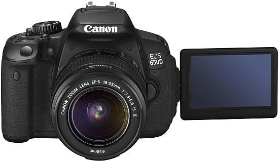 Lustrzanka Canon EOS 650 D /materiały prasowe