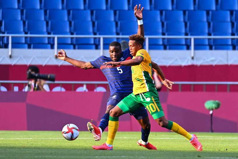 Luther Singh podczas meczu Francja - RPA. Tokio 2020 /Icon Sports /Newspix