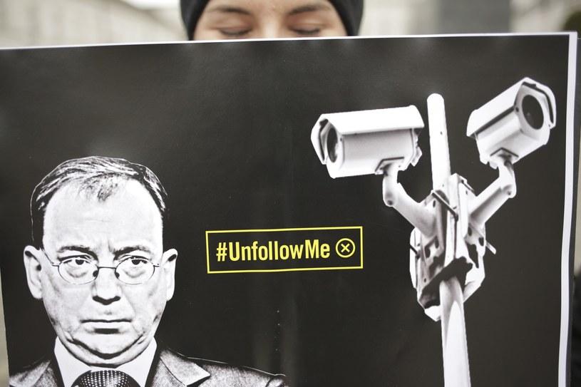 Lutowy protest Amnesty International /Andrzej Hulimka  /Reporter
