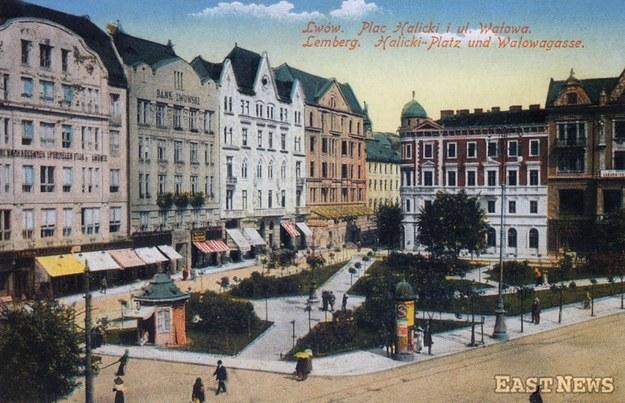 Lwów - widok z 1915 r. /Danuta B. Łomaczewska /East News