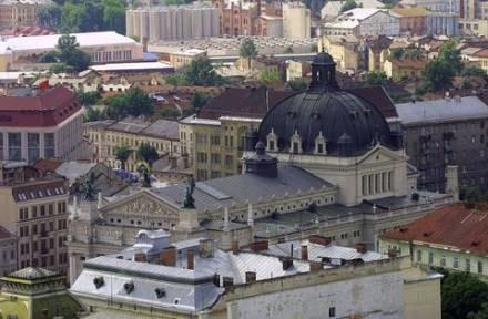 Lwów. Widok z Ratusza/fot. T. Rytych /Agencja SE/East News
