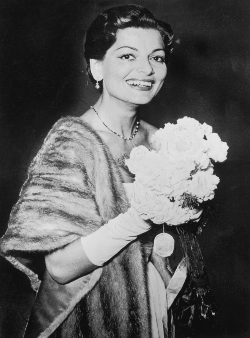 Lys Assia w 1956 roku /Hulton Archive /Getty Images