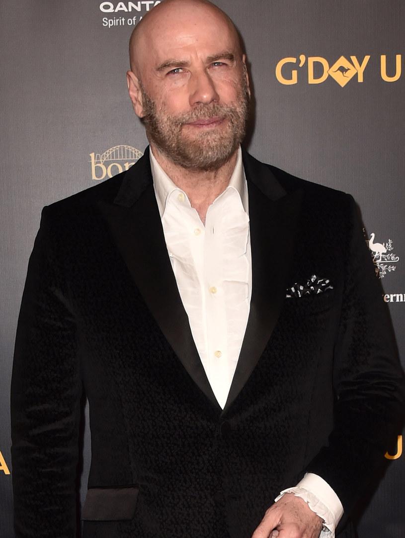 Łysy John travolta na gali 16th annual G'Day w Los Angeles /Alberto E. Rodriguez /Getty Images