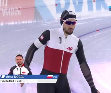 Łyżwiarstwo szybkie. Artur Nogal: Jest dobrze, ale na MŚ musi być lepiej (POLSAT SPORT). Wideo