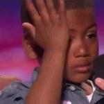 Łzy 7-latka po decyzji jurora