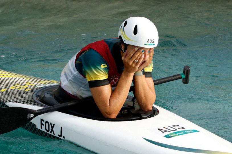 Łzy radości Jessiki Fox /Adam Pretty /Getty Images