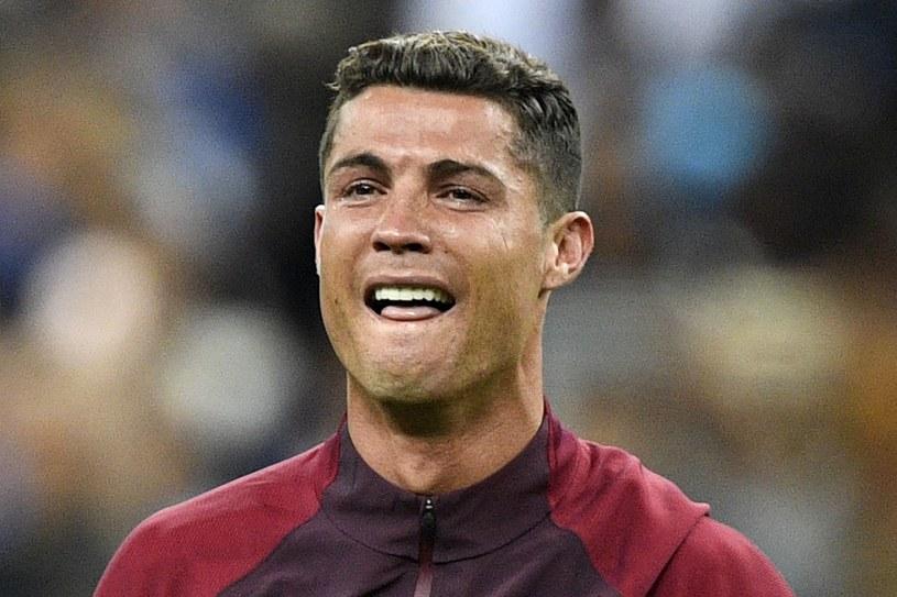 Łzy szczęścia CR7 po finale Euro /AFP