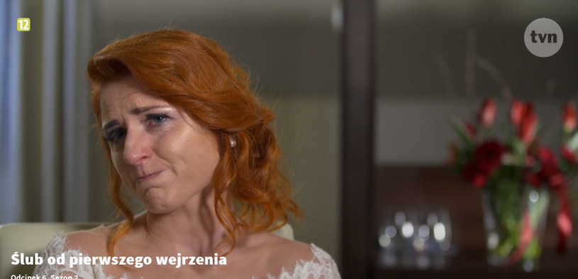 Łzy u Pauliny pojawiły się nie raz /TVN