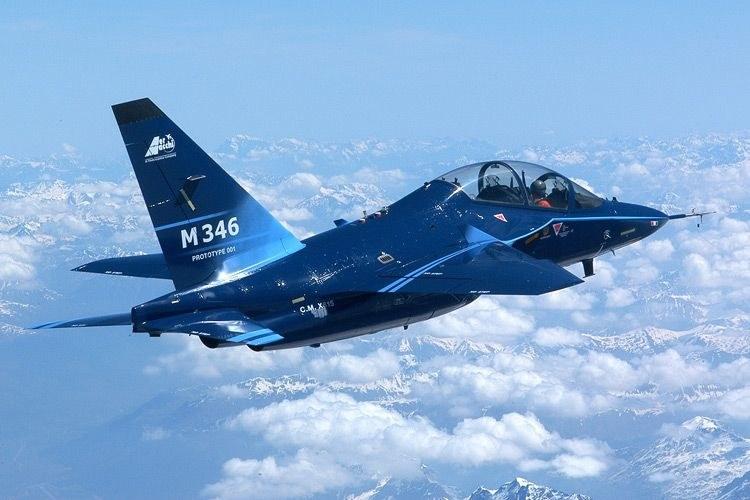 M-346 Master - nowy samolot Sił Powietrznych /INTERIA.PL/materiały prasowe