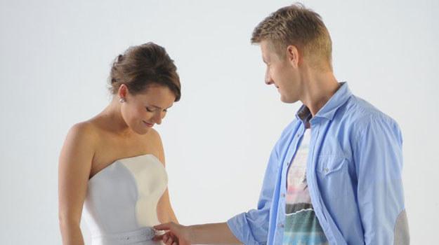 """""""M jak miłość"""": Ala w sukni ślubnej /Agencja W. Impact"""