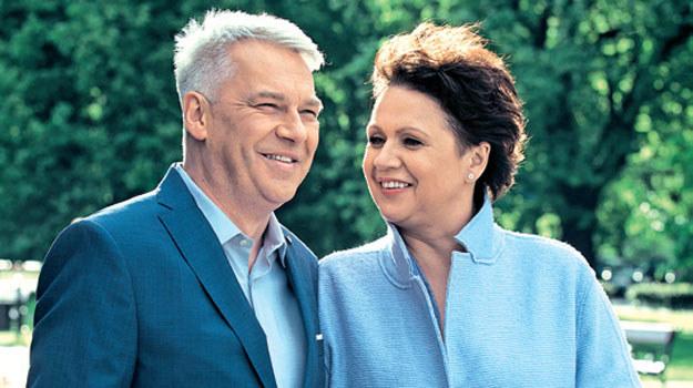 """""""M jak miłość"""": Bilski i Maria /Agencja W. Impact"""