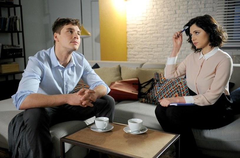 """""""M jak miłość"""": Marcin i Iza /Agencja W. Impact"""