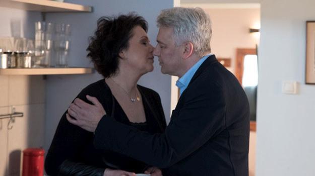 """""""M jak miłość"""": Namiętne pocałunki /Agencja W. Impact"""